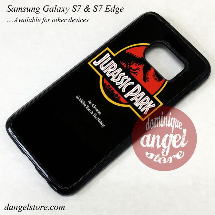 Jurassic Park Phone Case for Samsung Galaxy S7 and Galaxy S7 Edge
