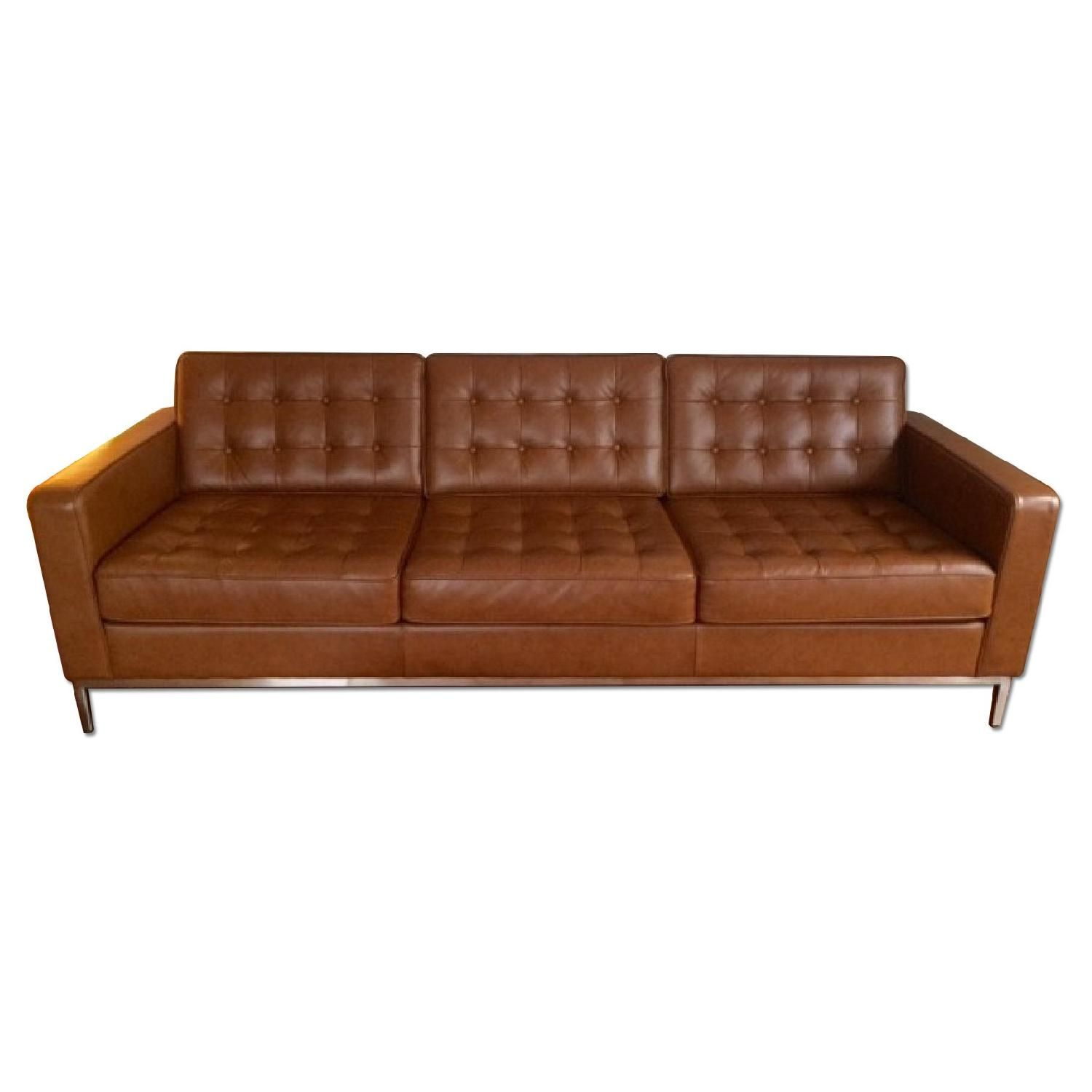 Eq3 Brown Leather Couch Brown Leather Couch Leather Couch Couch