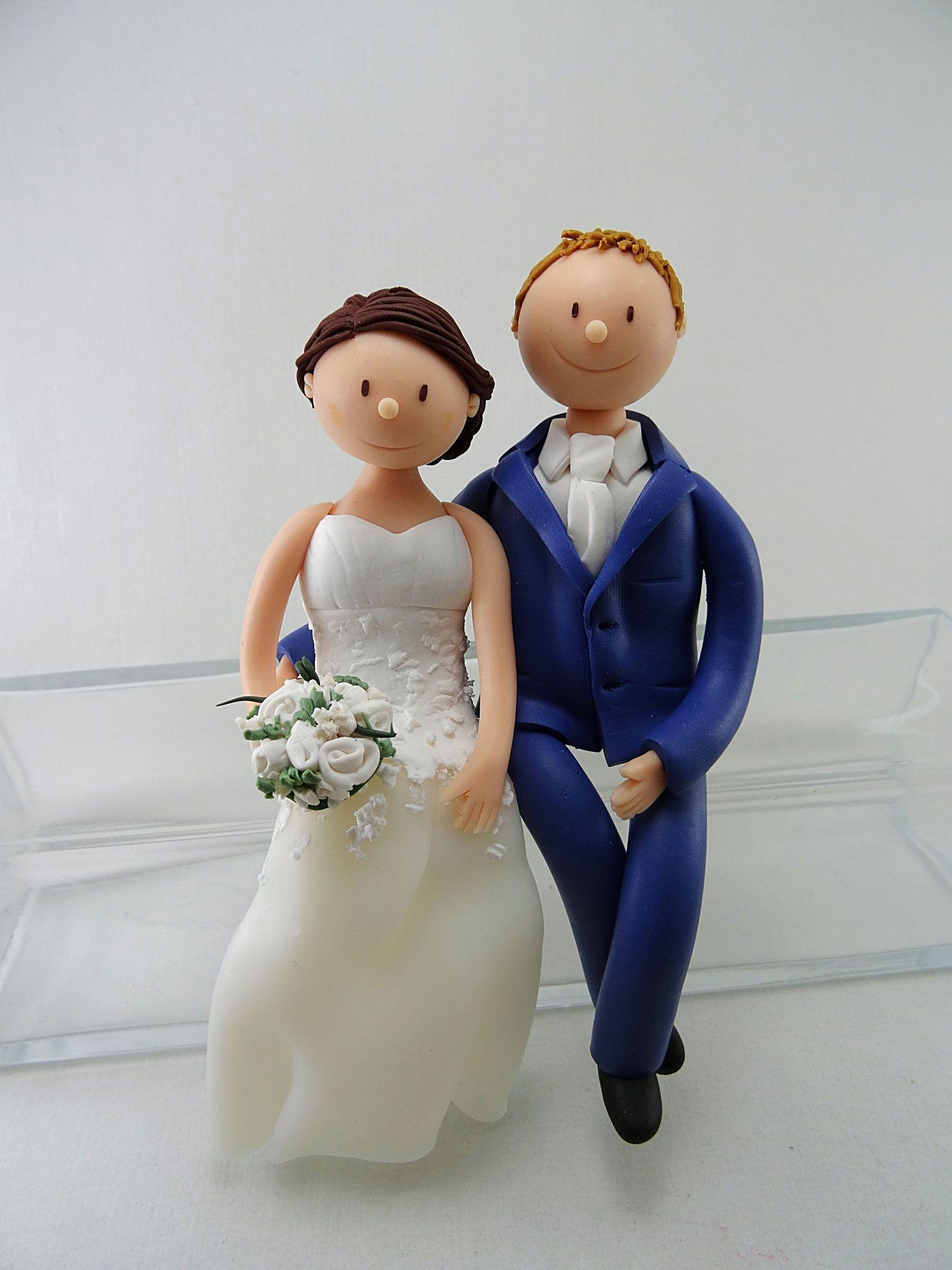 Tortenfigur Brautpaar Sitzend Tortenfiguren Hochzeit Torten Figuren Tortenfiguren