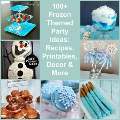 100 disney frozen themed party ideas willow s frozen party