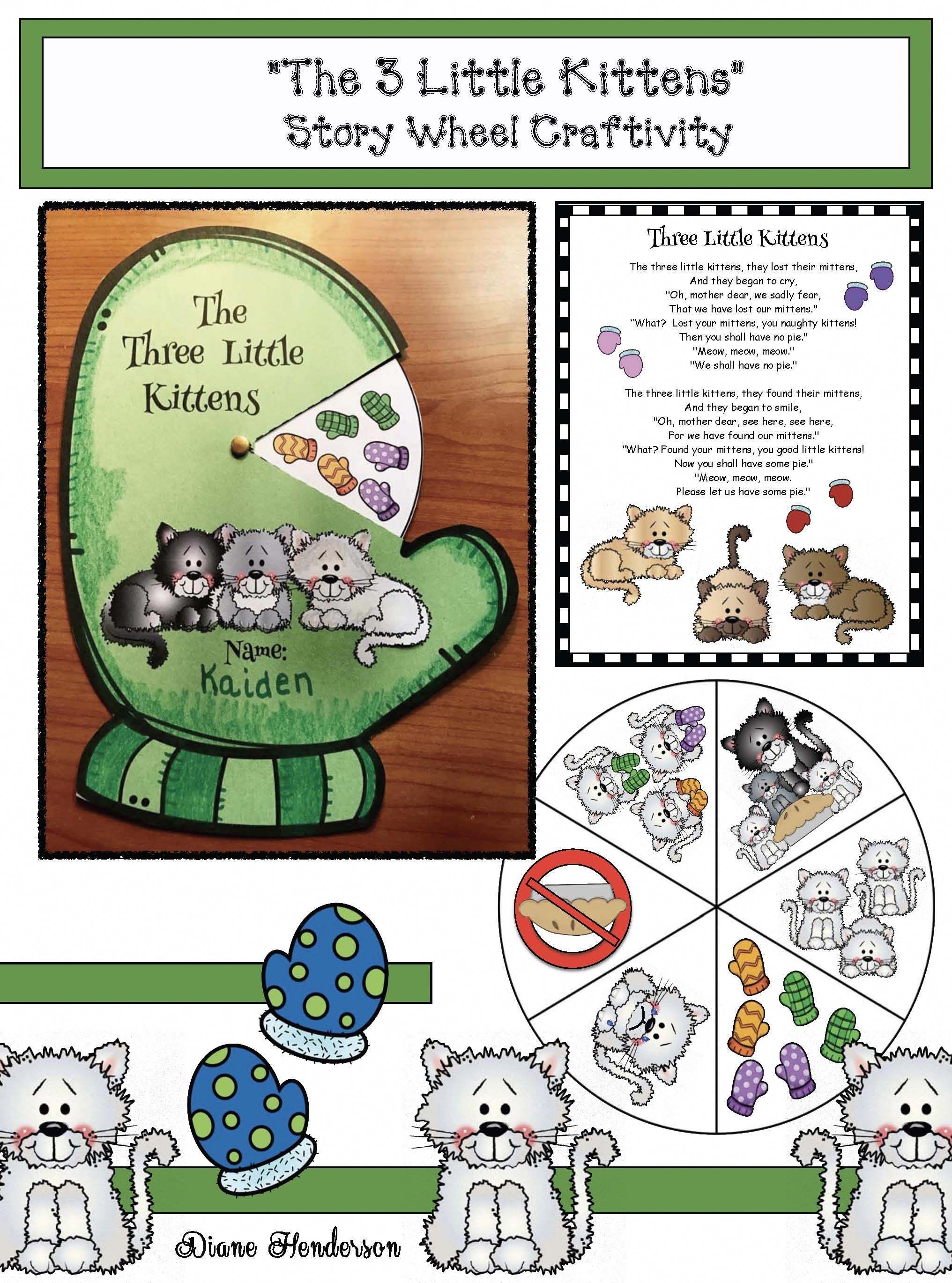 Story Telling Wheels Nursery Rhyme Activities Nursery Rhyme