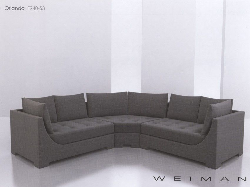 Leather Sofa Orlando Sectional by Weiman All hardwood frame with interlocking construction Please call for details