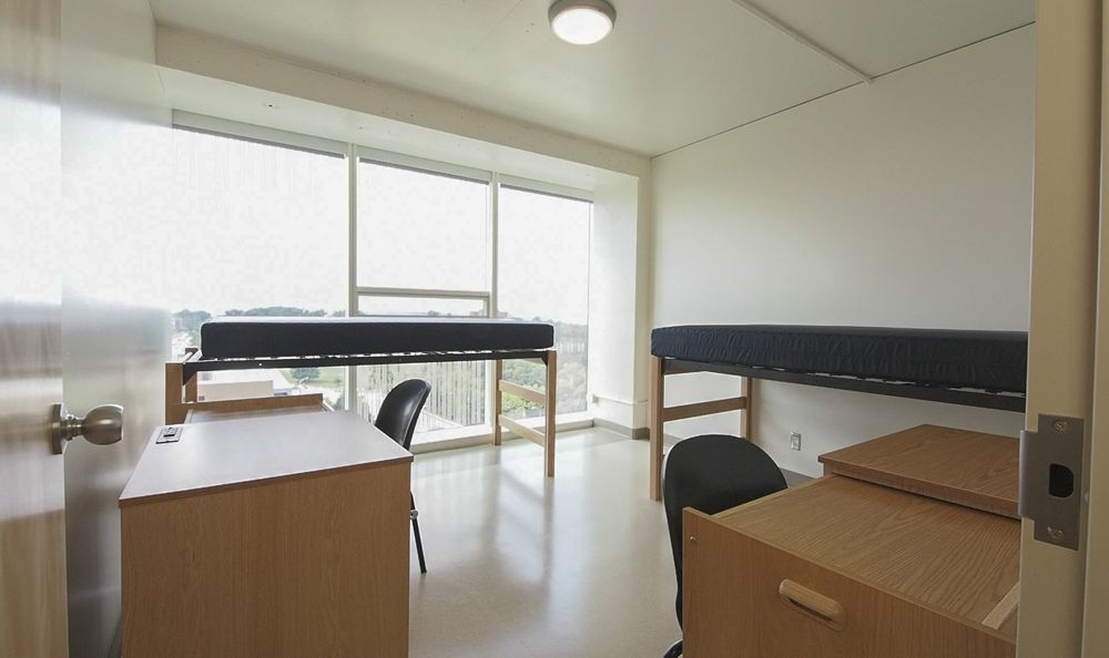 Morgens Hall 3 Person 2 Bedroom Apartment Home Loft Bed Residence Hall