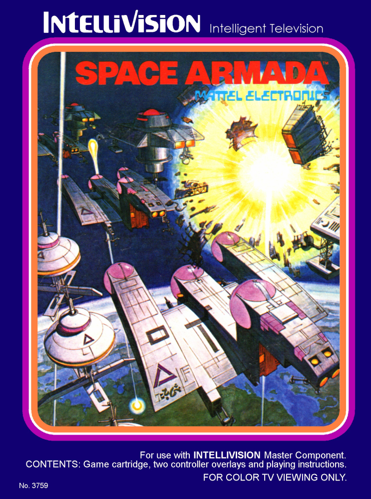 Spacearm Vintage Video Games Retro Gaming Art Games