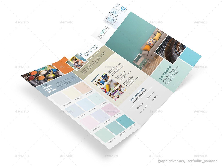Paint Company Print Bundle Paint Companies Brochure