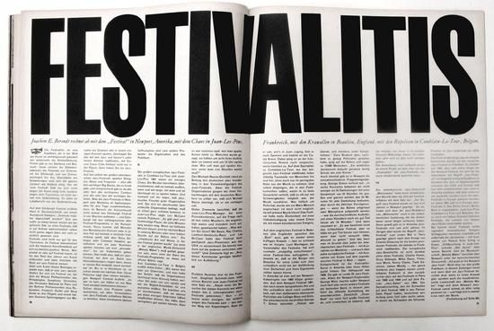:: Twen magazine, Art Director/Editor Willy Fleckhaus, 1961 ::