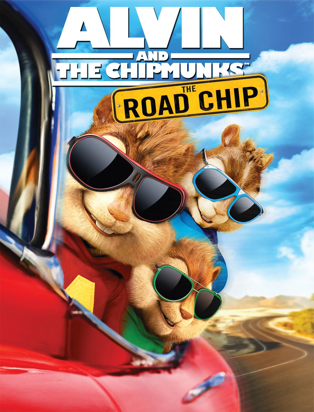 Theodore Alvin And The Chipmunks Glasses