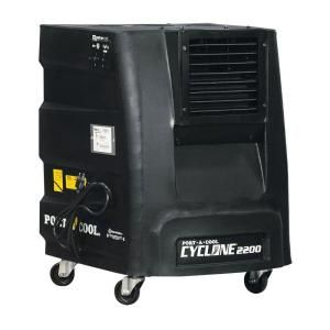 Port-A-Cool Cyclone 2200 CFM 2-Speed Portable Evaporative Cooler for 500 sq. ft.-PACCYC03 at The Home Depot