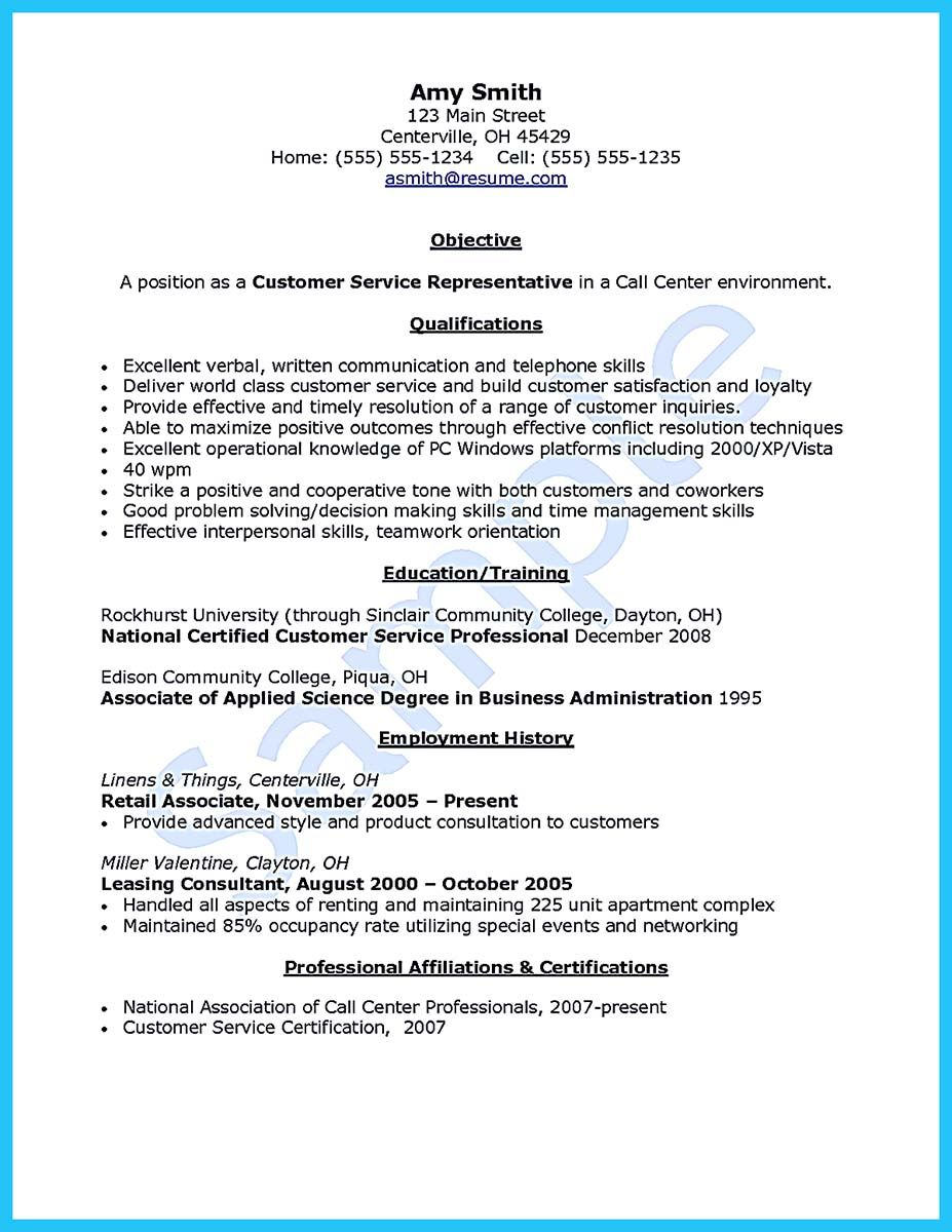 Sample Resume For Leasing Consultant Awesome Well Written Csr Resume To Get Applied Soon  Resume .