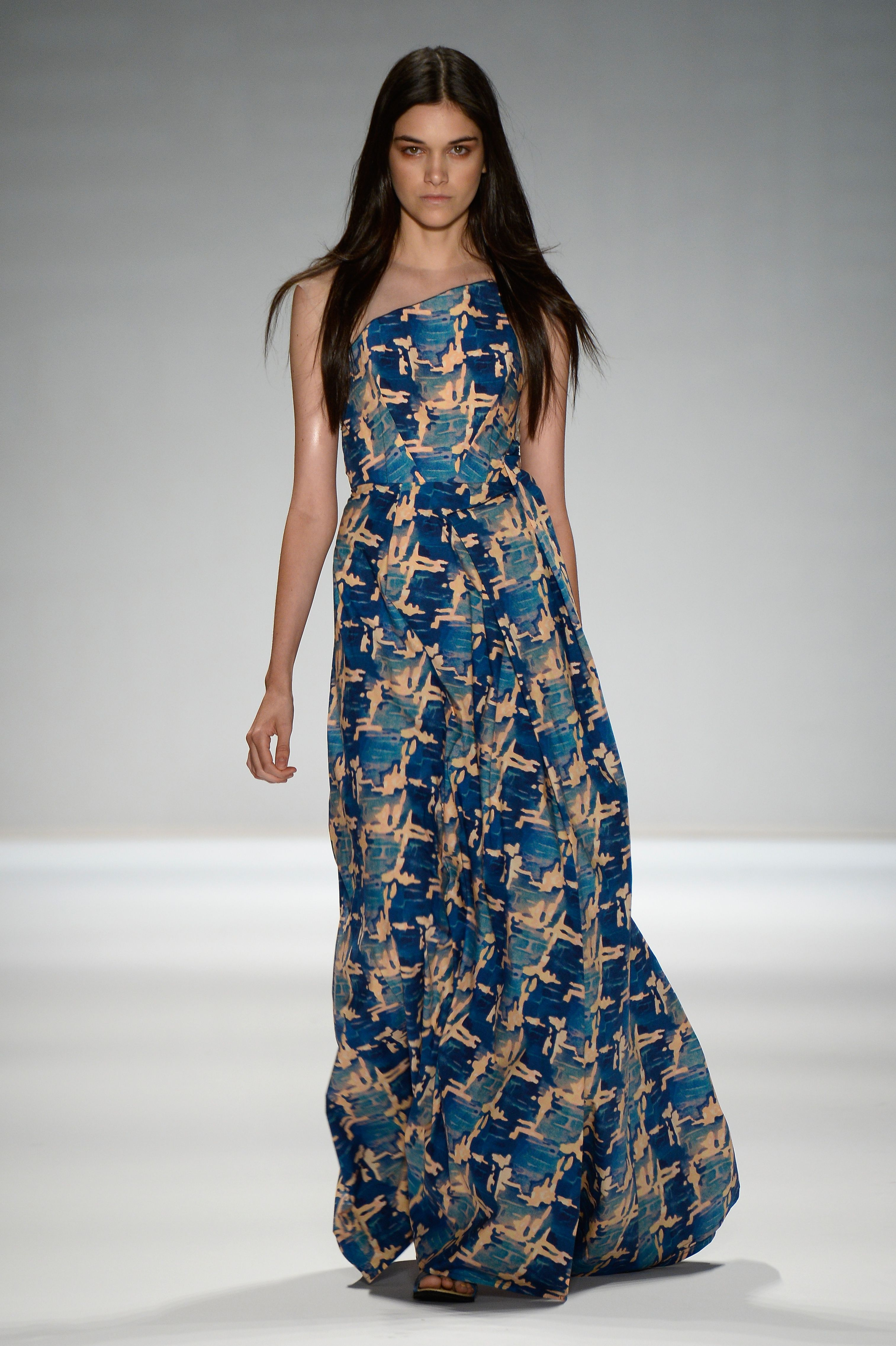 185e8b22c Vivienne Tam NYFW 2013 - guess the maxi length is in | haute couture ...