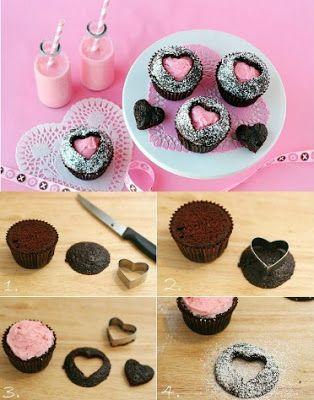 Decoracion Para Cupcakes Facil Y Rapido Buscar Con Google