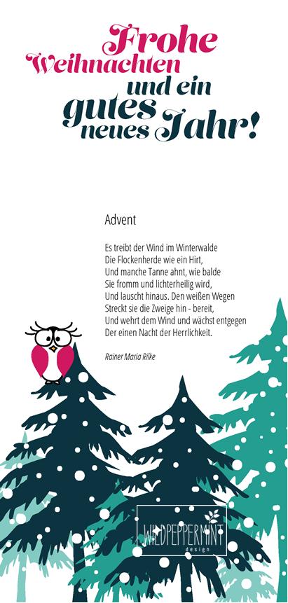Frohe #Weihnachten und ein gutes neues Jahr #2015 / © wildpeppermint ...