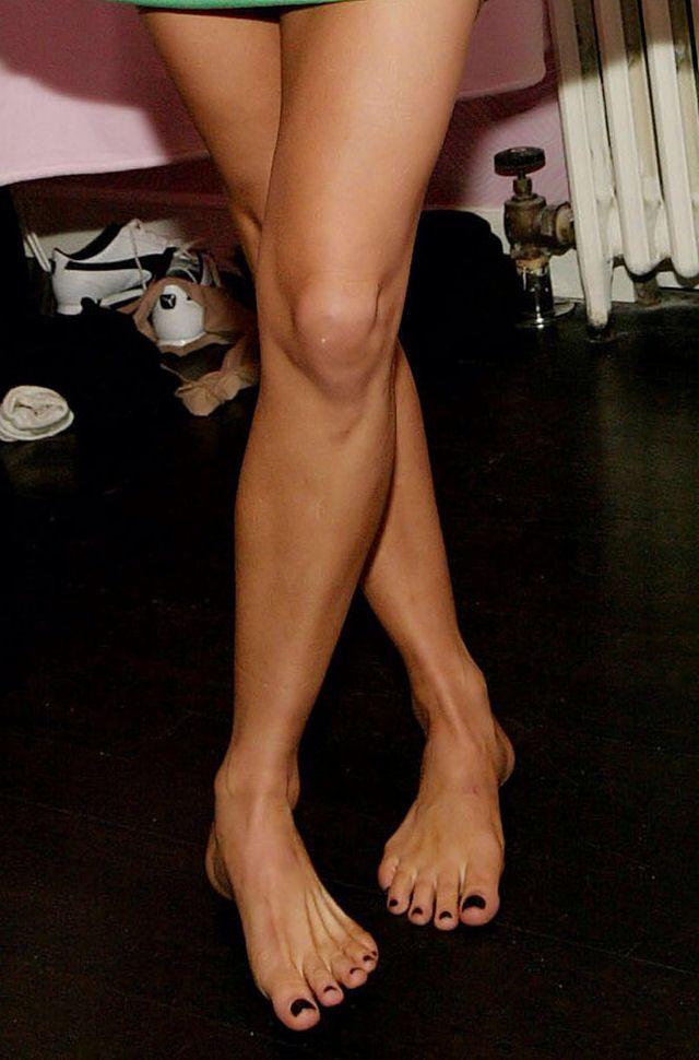 feet legs and Stacy ferguson