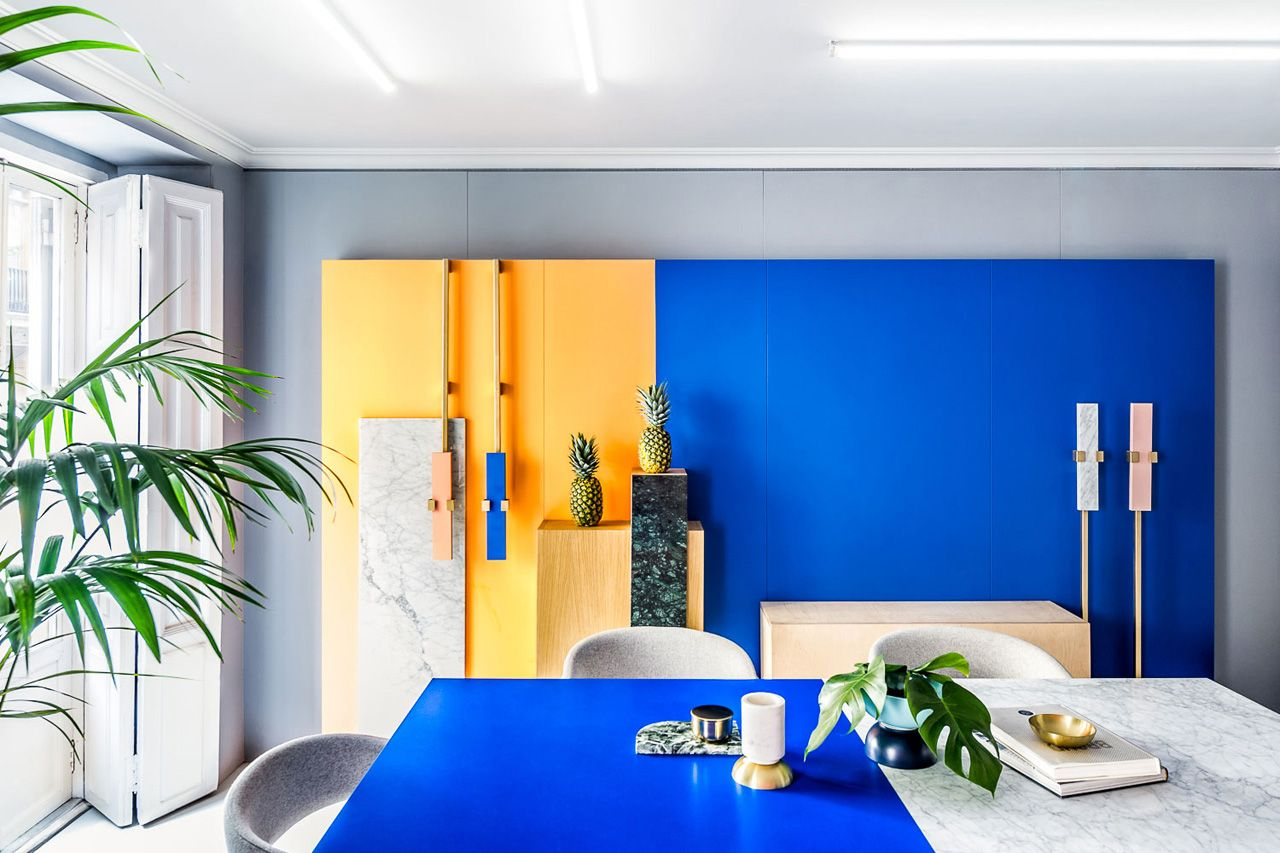 Masquespacio the innovative spanish design agency decided it was time to redesign their own studio in valencia as well brand identity also   interior office rh pinterest