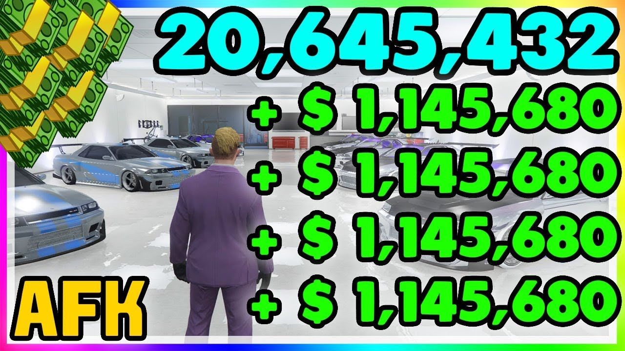 Unlimited Money Glitch 2 000 000 While Doing Nothing Gta