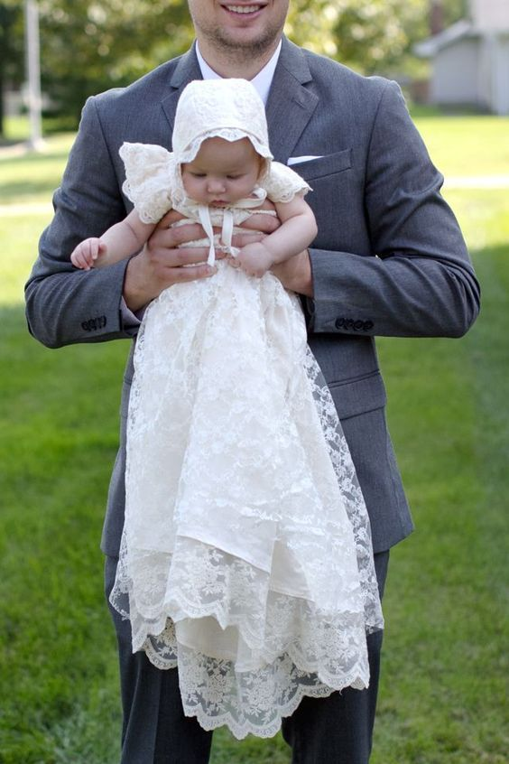 5699b616e Vestidos para bautizo: Los más bonitos para niño y niña [FOTOS ...