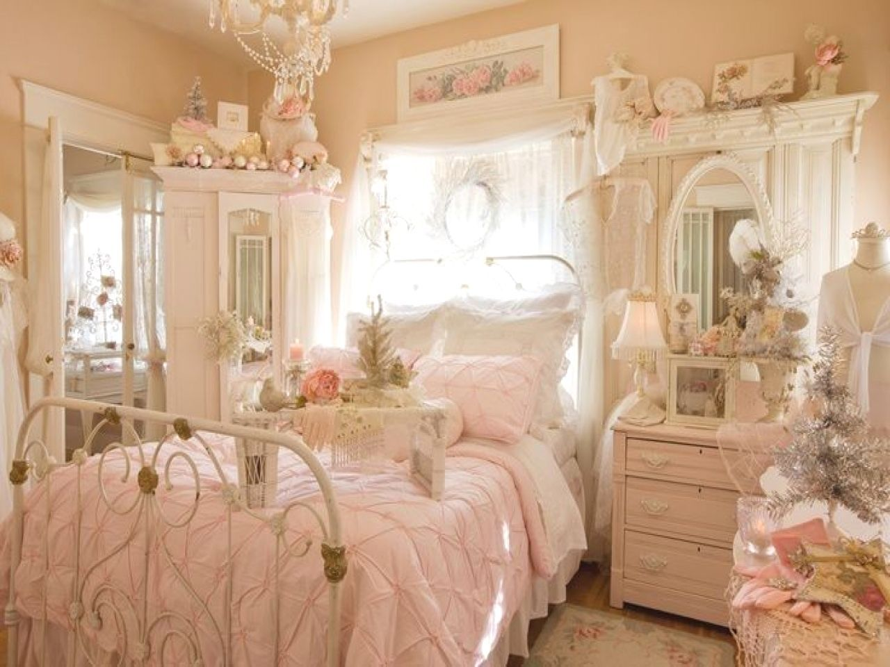 12 Easy Shabby Chic Bedroom Decor Plans You Can Do Yourself For