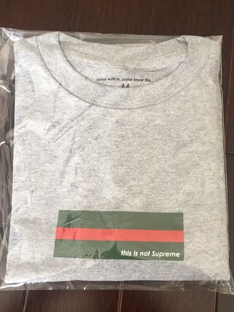 other some notice some know this gucci box logo this is not