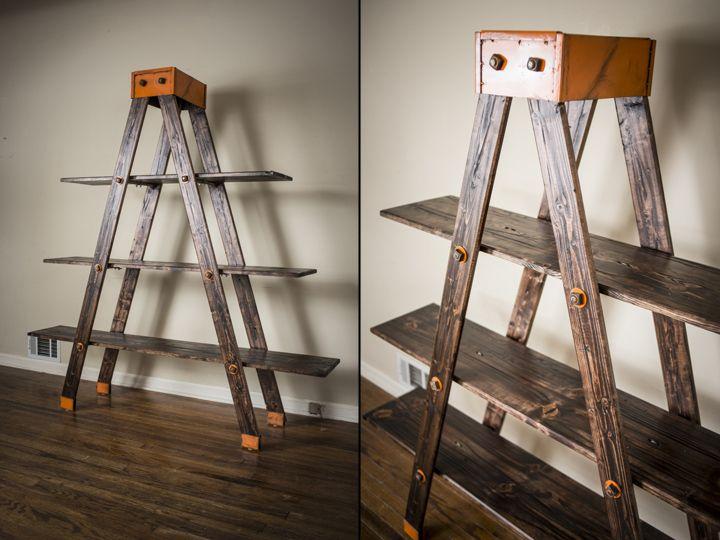 A Frame Ladder Shelf By Anton Maka Designs Retail Design