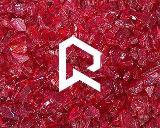 Rubi Designed By Stulgin Logo Design Diamond Logo Design