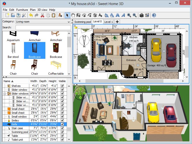 Sweet Home 3d Download Https Goo Gl 0a9nkb Free Interior Design Software Interior Design Software Home Design Software