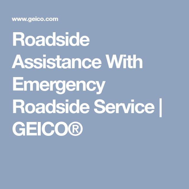 Roadside Assistance With Emergency Roadside Service | GEICO