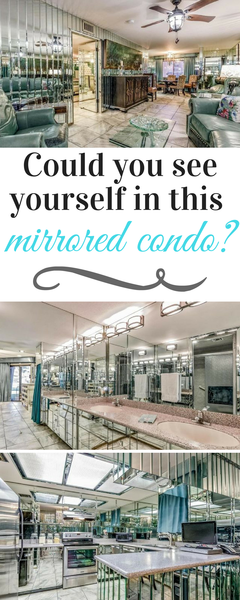 could you see yourself inside this mirrored condo in the desert rh pinterest com
