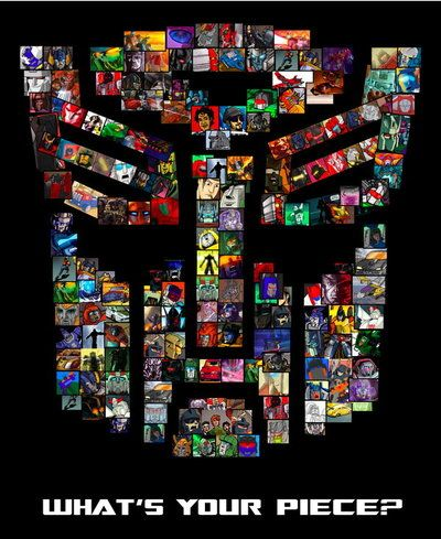 Transformers Mosaic - TF short comic strips