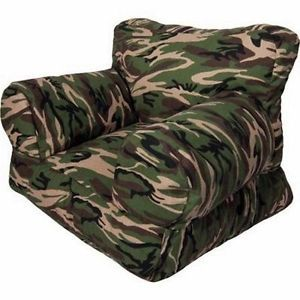 Kids Chair Children Play Room Furniture Toddler Sofa Camo Hunting
