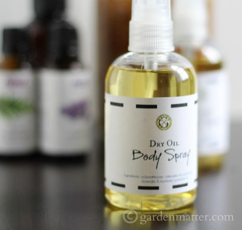 body oil spray for dry skin