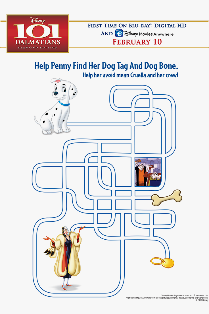 Fun Kids & Family Activities Help Penny find Her Dog Tag