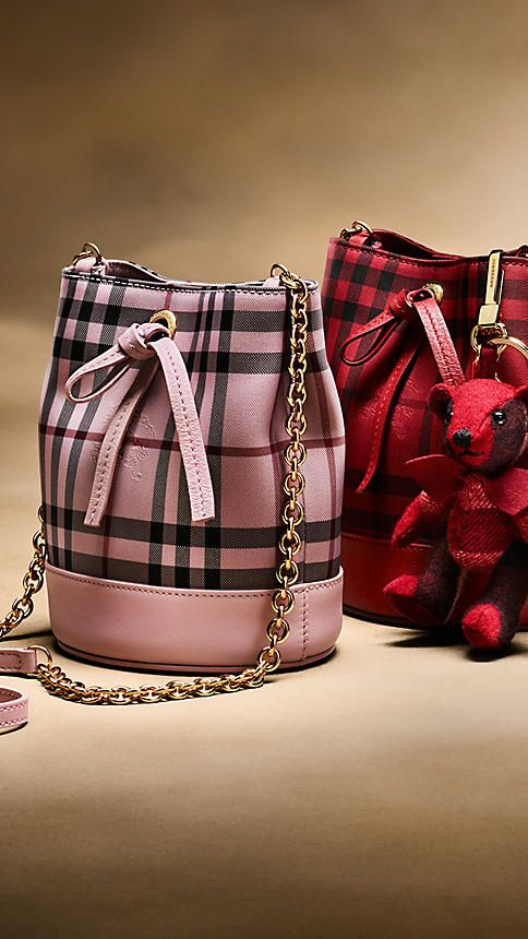 burberry bag red