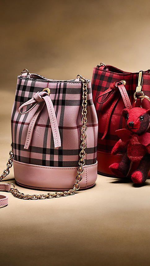 burberry bag red