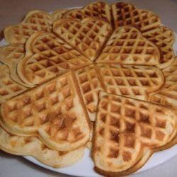 вафли в бабушкиной вафельнице рецепт с фото