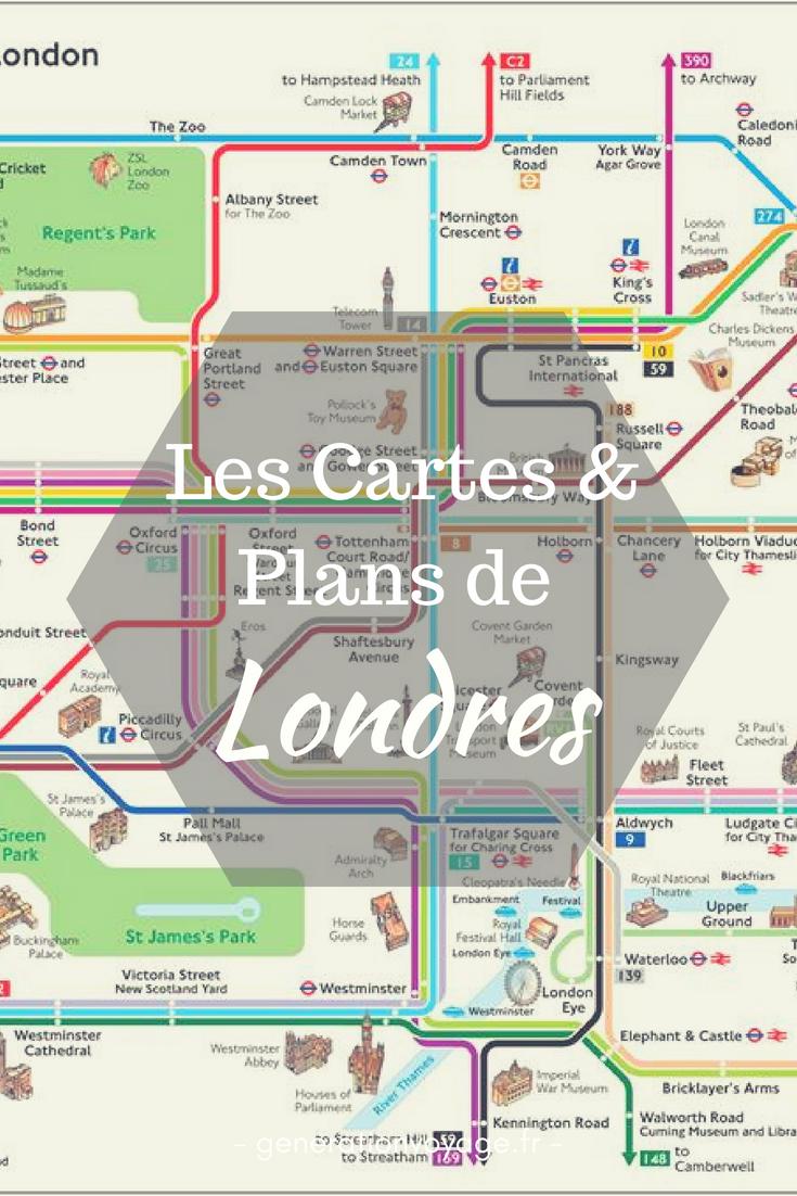Dcouvrez Les Cartes Plans De Londres Pour Mieux Prparer Votre Voyage