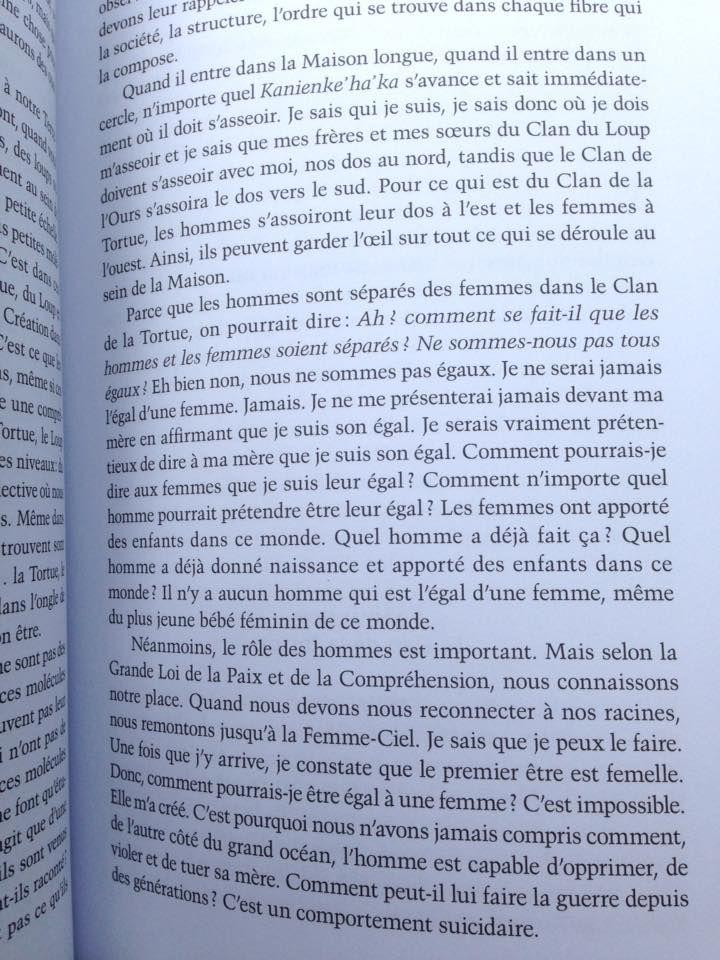 Paroles de paix en terre autochtone, p 51 Perso Pinterest - comment installer la terre dans une maison