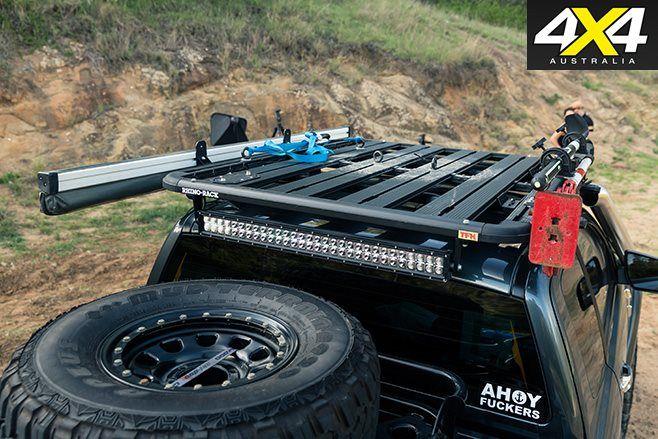 Custom Ford Ranger Pxii Roof Rack Truck Gears
