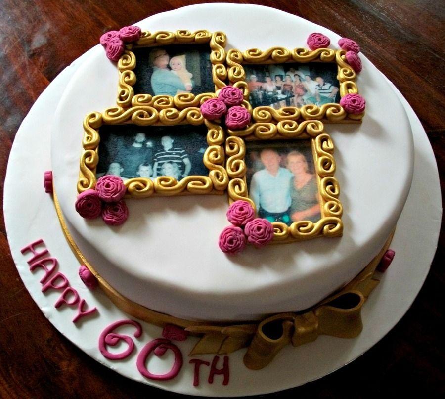 Photo Frames (With images) Cake frame, Birthday cake