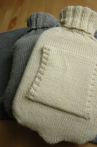 Simple Hot Water Bottle Cover Pattern By Elly Fales