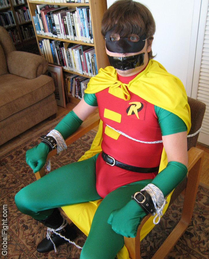 Boy Wonder Bondage