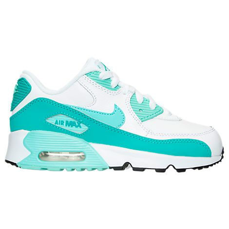 the best attitude 35951 5e891 Girls  Preschool Nike Air Max 90 Leather Running Shoes - 833377 833377-106   Finish Line