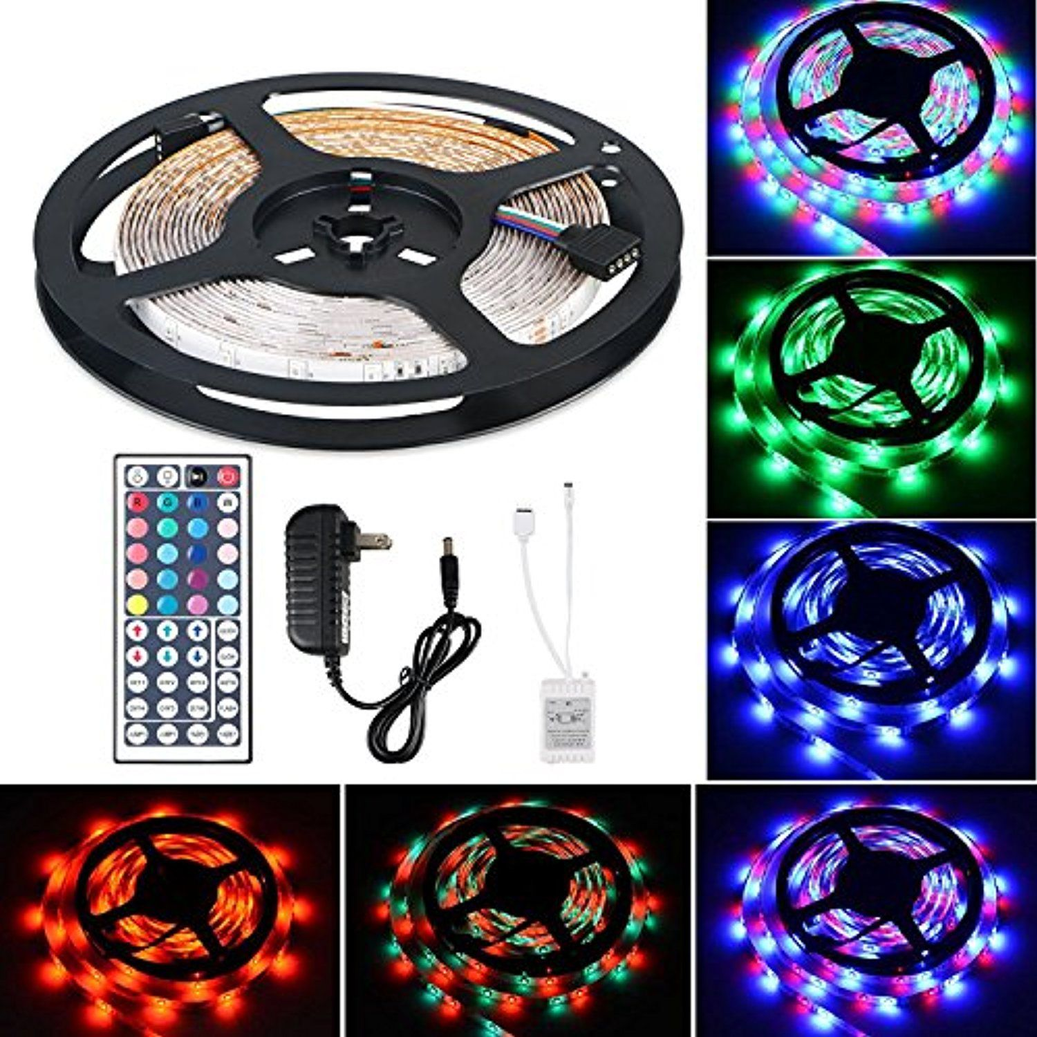 Flexible Led Strip Light Kit Linkstyle 16 4ft Led Rope Lights 300 Led Tape Light Color Changing R Led Rope Lights Flexible Led Strip Lights Led Strip Lighting