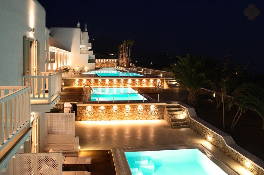 Night Shot Of The La Residence 5 Star Luxury Hotel Suites In