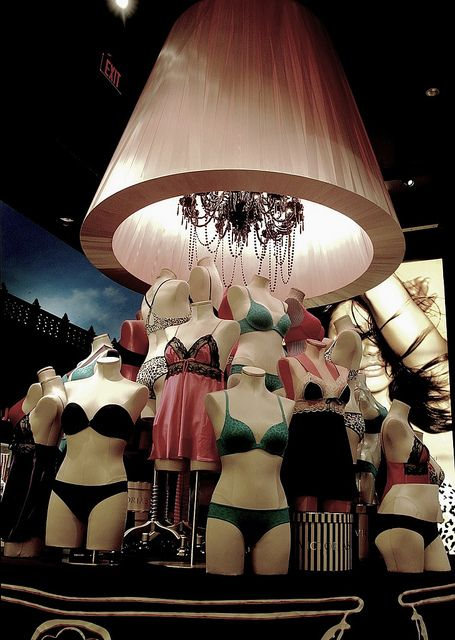 f02156bb3 Victoria Secret Display of mannequin lingerie by yumiang
