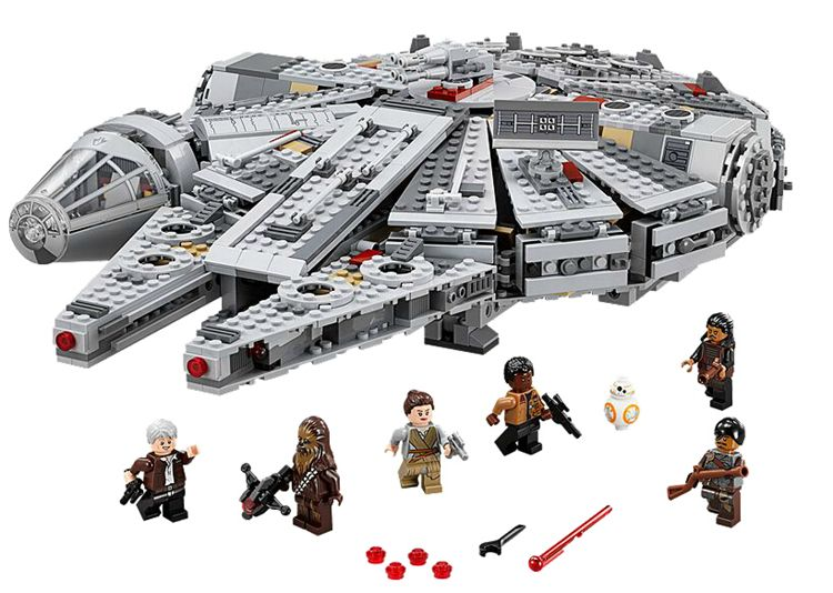 WholeSale LELE#79021 & LEPIN#05007 Star Wars Millennium Falcon ...
