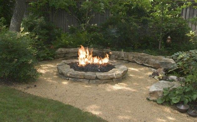 Wie Konnen Sie Eine Feuerstelle Bauen 60 Fotobeispiele Feuerstelle Garten Landschaftsbau Garten