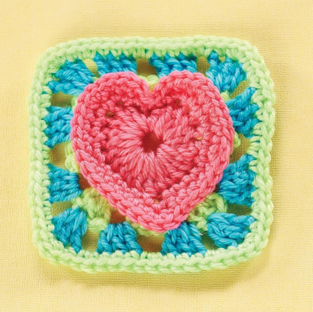 Pin de Sue Kayser en Crochet Hearts | Pinterest | Corazones de ...