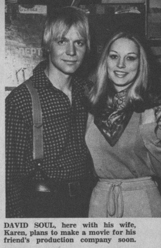 David Soul, Karen Carlson - Tiger Beat - July, 1970