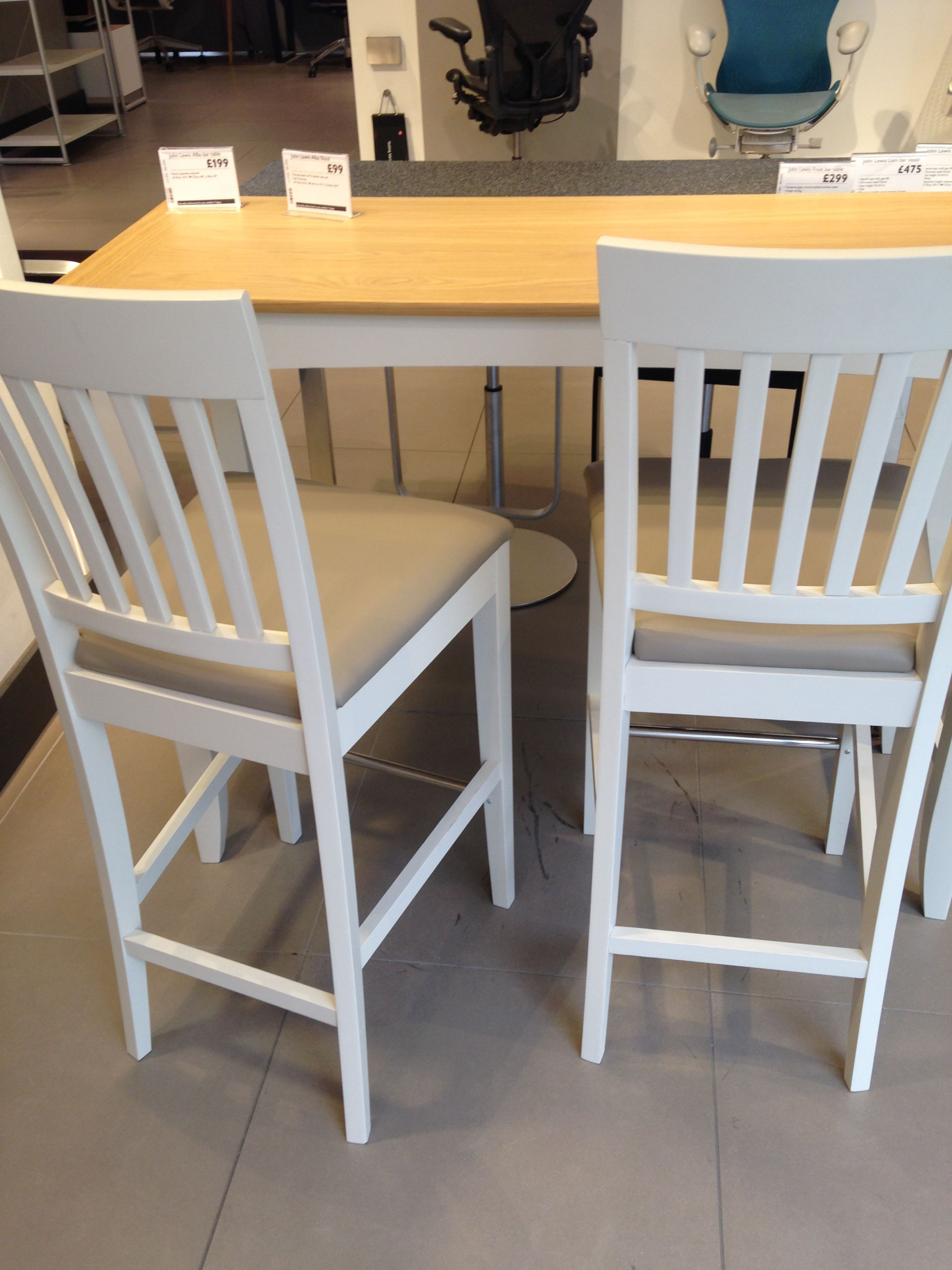 Magnificent John Lewis Alba Bar Stools Stools For Kitchen Island Gmtry Best Dining Table And Chair Ideas Images Gmtryco