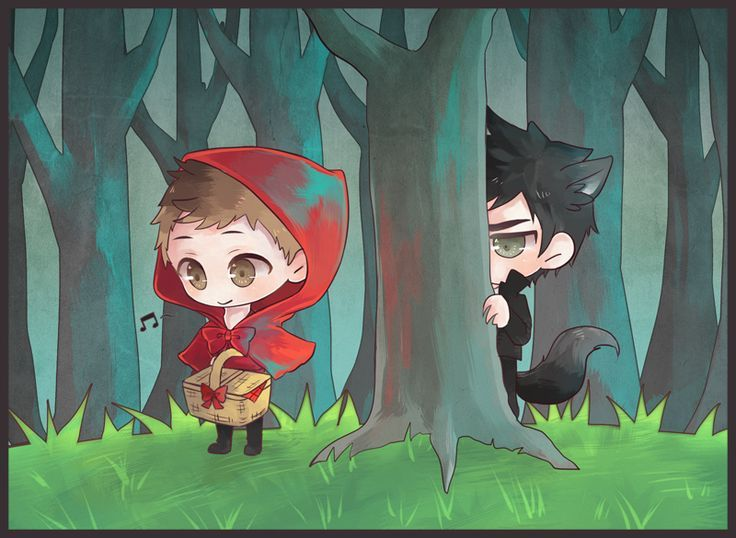 Big bad wolf song little red riding hood the best wolf 2018 the wolf fell in love with and hoods okamimimi red riding hood page 3 zerochan anime image board sciox Choice Image